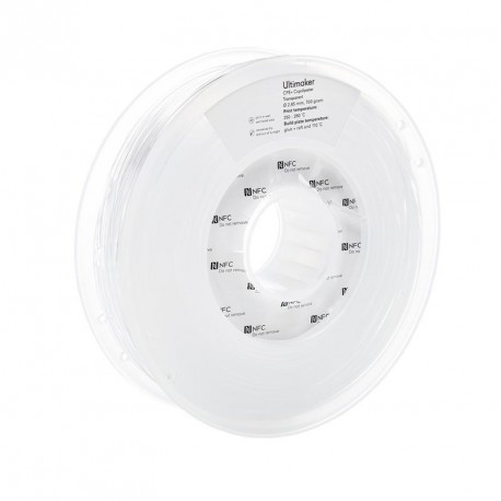 Ultimaker 3 CPE+ 2,85 mm 750g Transparent Filament