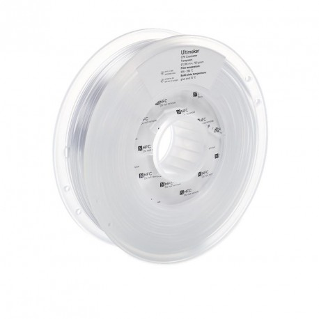 Ultimaker 3 CPE 2,85 mm 750g Transparent Filament