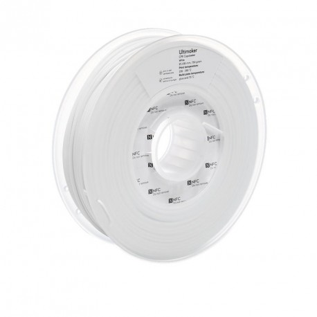Ultimaker 3 CPE 2,85 mm 750g White Filament