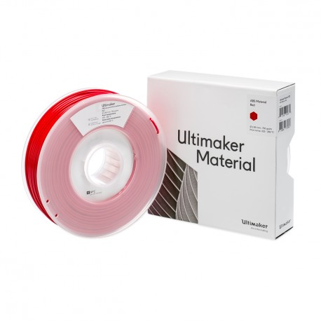 Ultimaker 3 ABS 2,85 mm 750g Red Filament