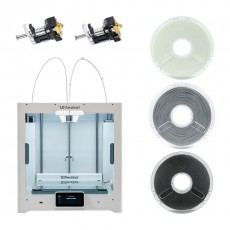 Ultimaker S5 3D Drucker inkl. Core und Polymaker Bundle