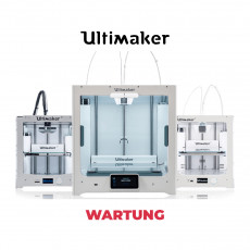 Ultimaker 3D-Drucker Wartung