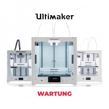 Ultimaker 3D Drucker Wartung