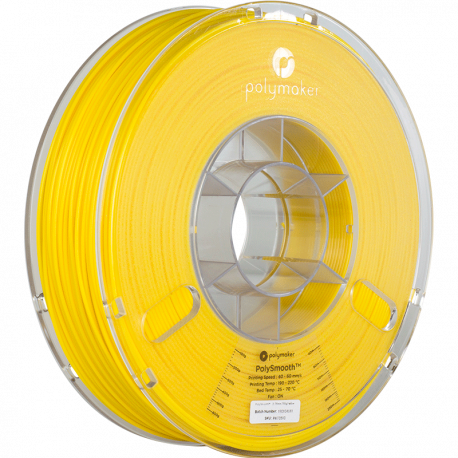 Polymaker PolySmooth™ 1,75mm 750g Filament Mustard Yellow
