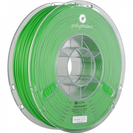 Polymaker PolySmooth™ 2,85mm 750g Filament Shamrock Green
