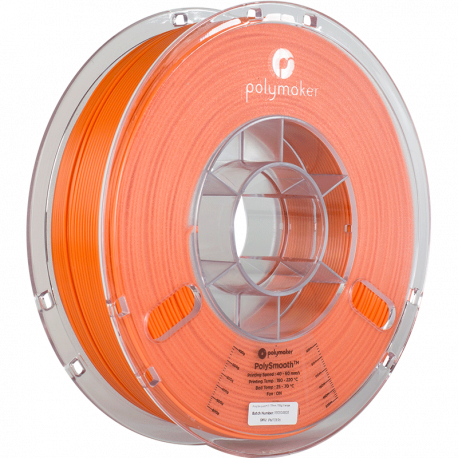 Polymaker PolySmooth™ 2,85mm 750g Filament Orange
