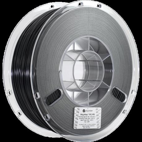 Polymaker PolyMax™ PC-FR 1,75mm 1000g Filament Schwarz