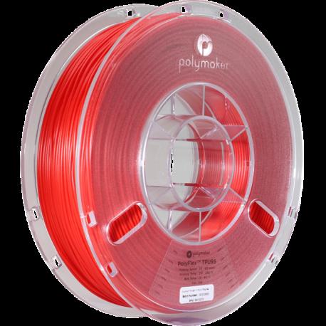 Polymaker PolyFlex™ TPU95 1,75mm 750g Filament Rot