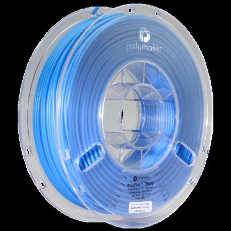 Polymaker PolyFlex™ TPU95 2,85mm 750g Filament Blau