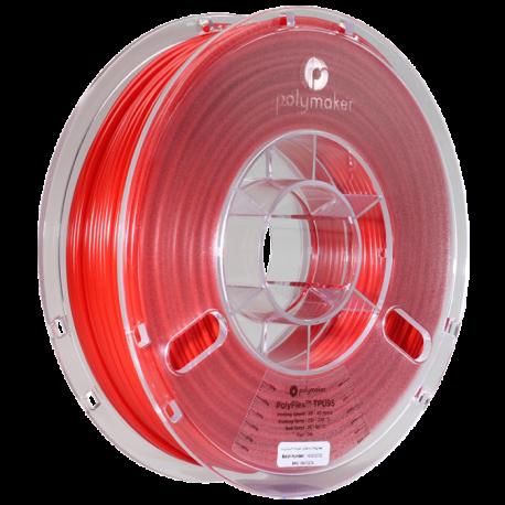 Polymaker PolyFlex™ TPU95 2,85mm 750g Filament Rot