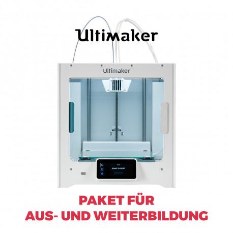 Ultimaker S3 3D-Drucker  - Paket für Aus- und Weiterbildung