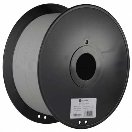 Polymaker PolyLite™ PLA 1,75mm 3000g Filament True Grey