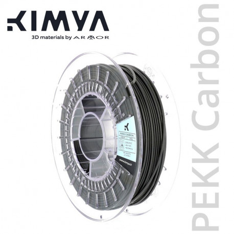 Kimya PEKK Carbon 1,75mm 500g Filament Grau