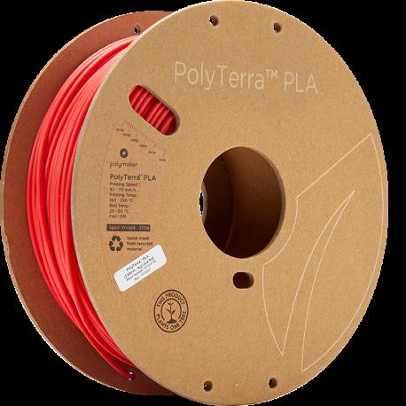 Polymaker PolyTerra™ PLA  2,85mm 1000g Filament rot