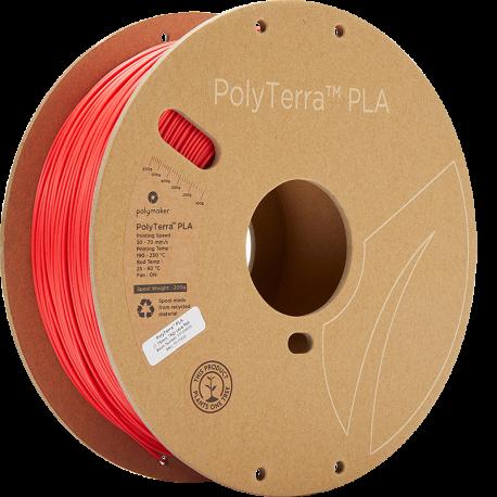 Polymaker PolyTerra™ PLA  1,75mm 1000g Filament rot