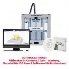 Ultimaker 2+ Connect 3D-Drucker PROMOPAKET
