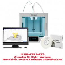 Ultimaker S3 3D-Drucker PROMOPAKET