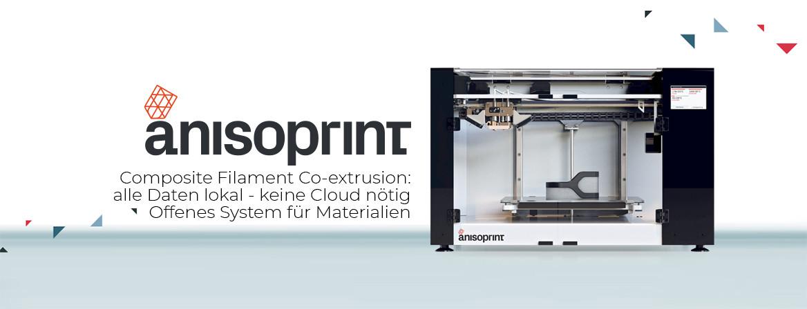 CF + FDM 3D Drucker - Anisoprint