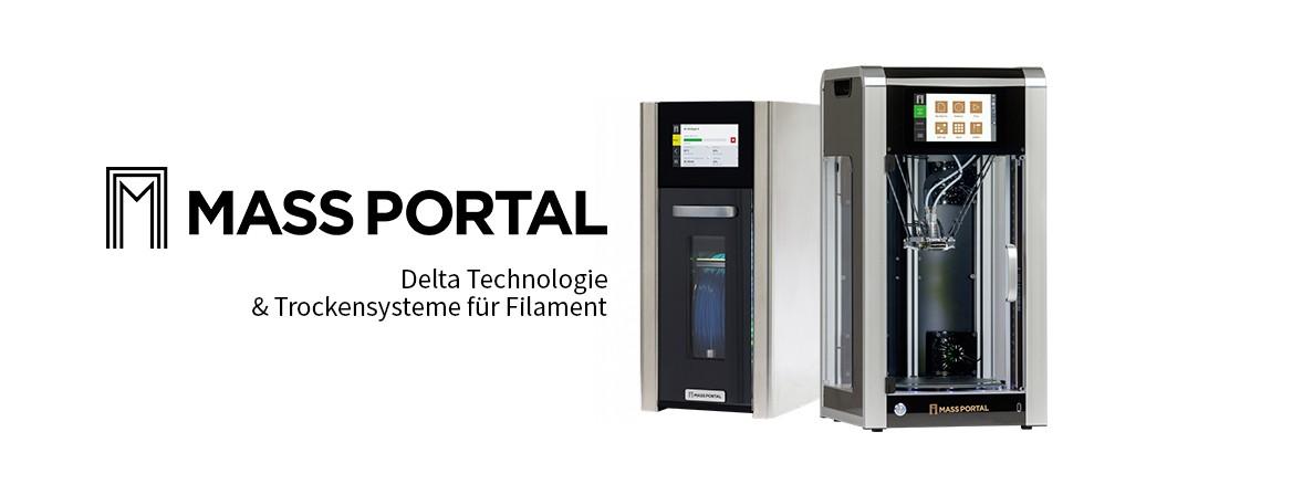 Mass Portal Dryer und 3D Drucker