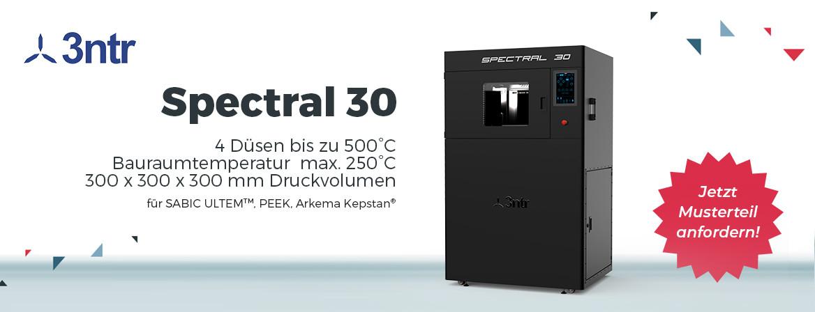 Hochtemperatur-3D-Drucker 3ntr Spectral 30